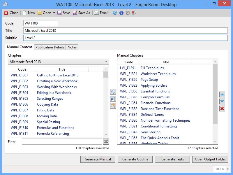 EngineRoom Desktop
